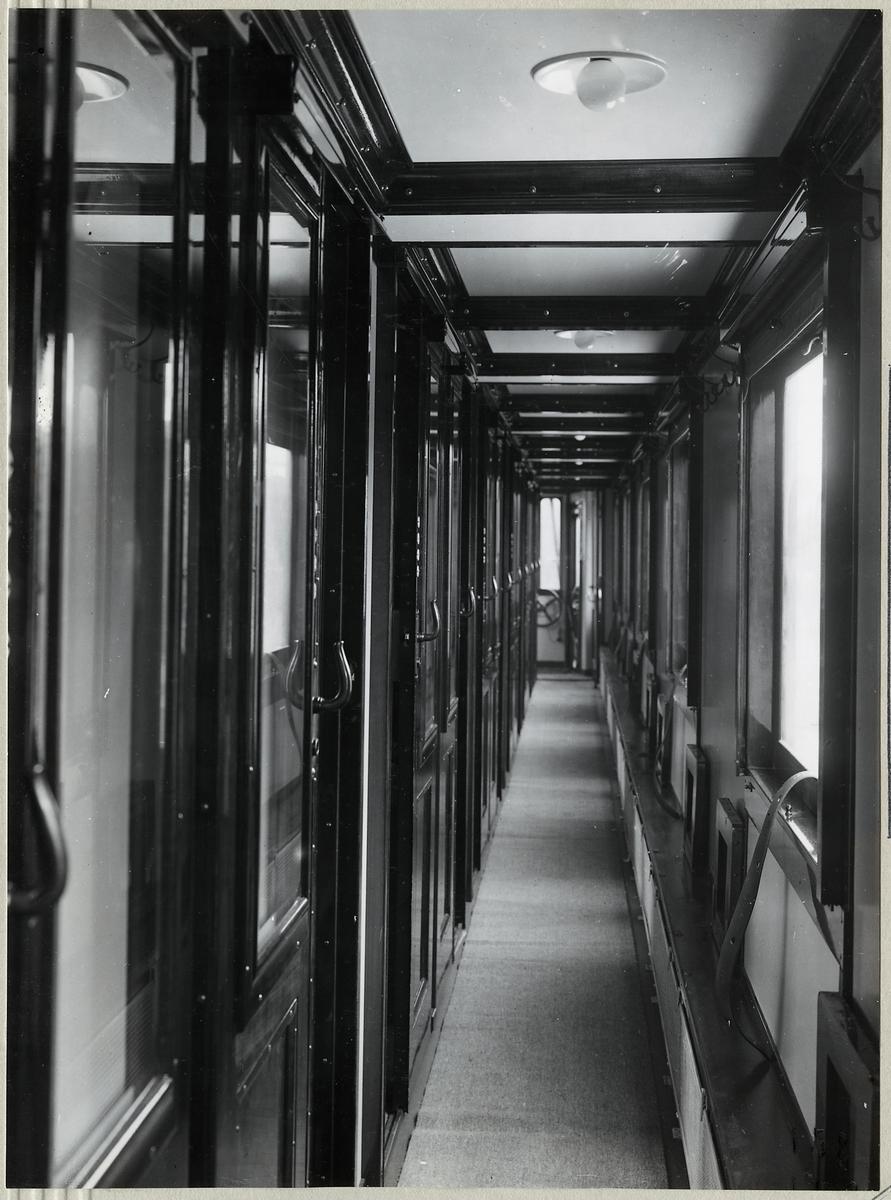 Korridor i Statens Järnvägar, SJ C012.