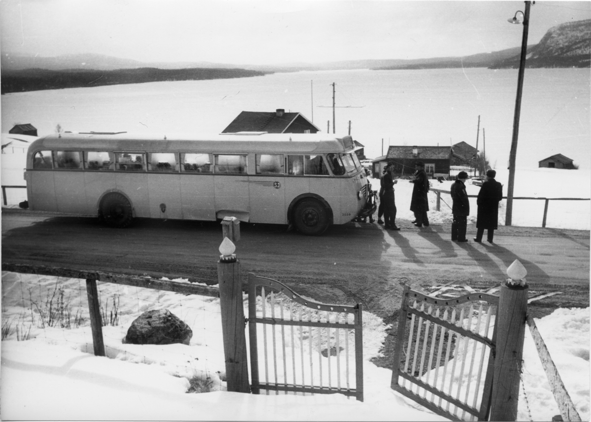 Statens Järnvägar, SJ buss 2059 SCANIA-VABIS B63.