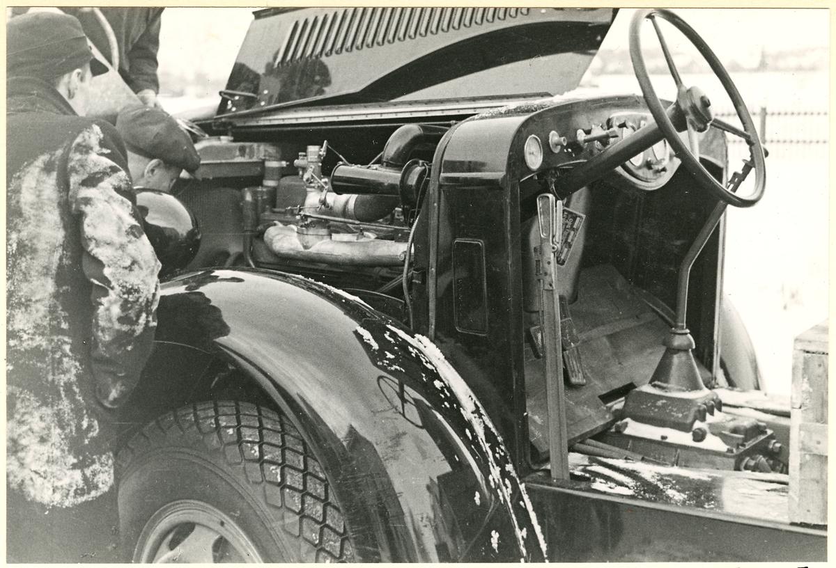 Inspektion av fordon.