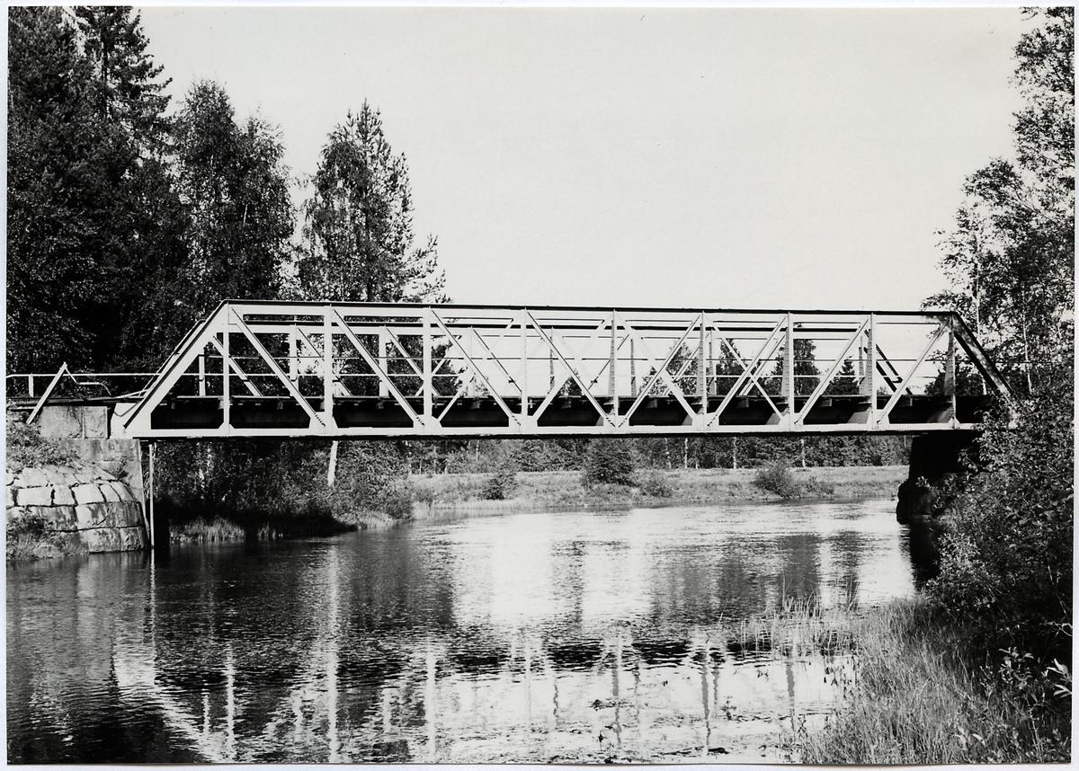 Järnvägsbro över Dysån.