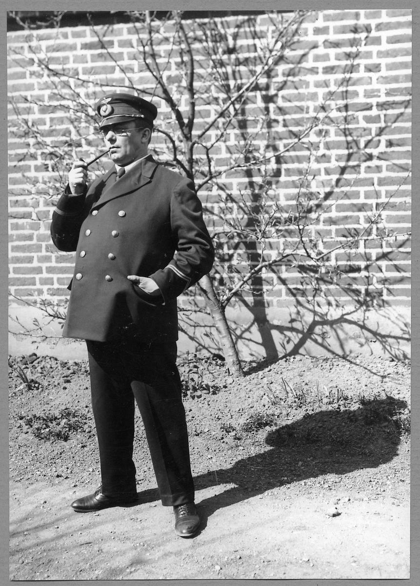Stationsföreståndare N. A. Edvard Qvist.
