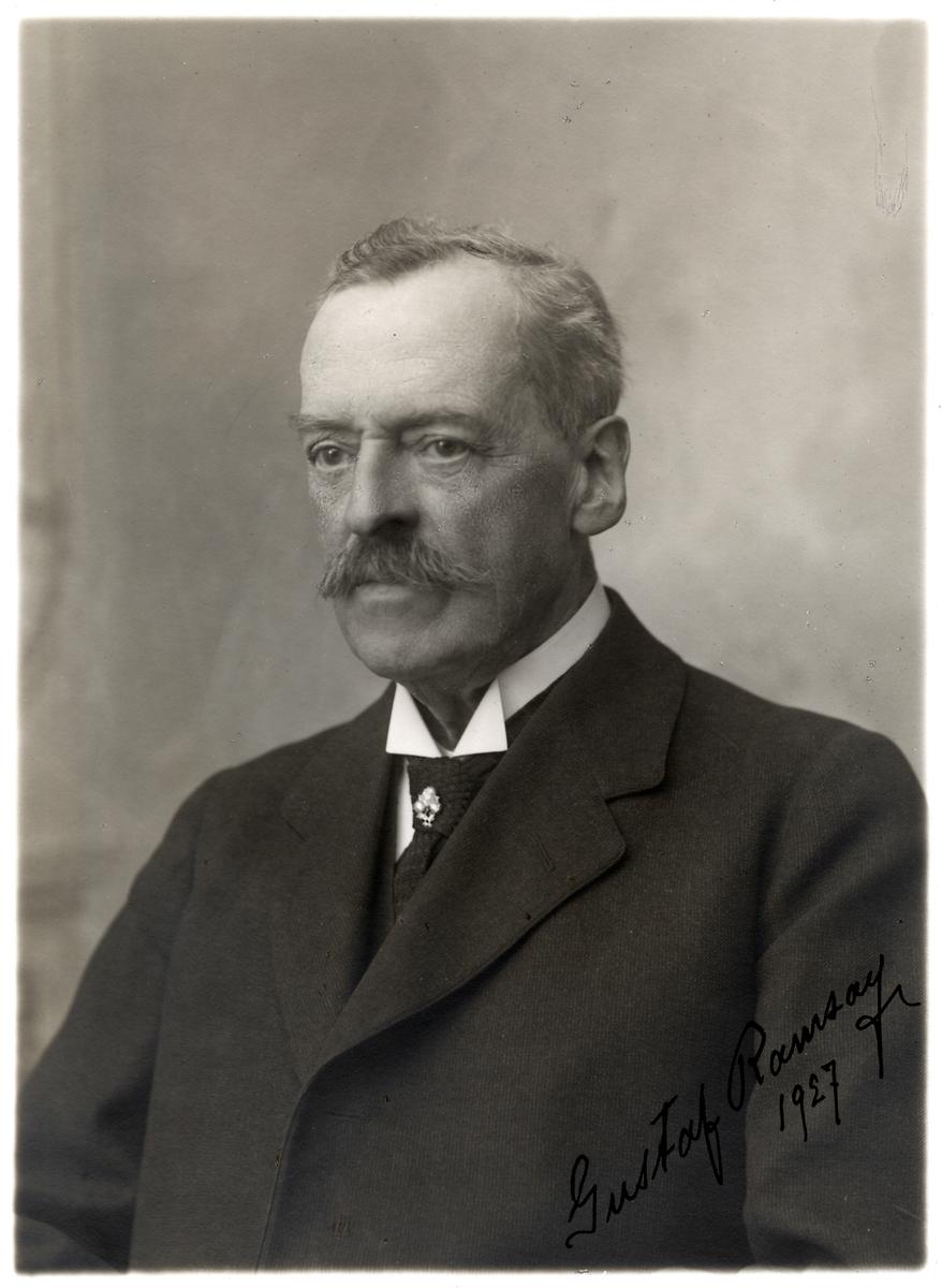Fd. Expeditionsföreståndare Gustaf Ramsay.