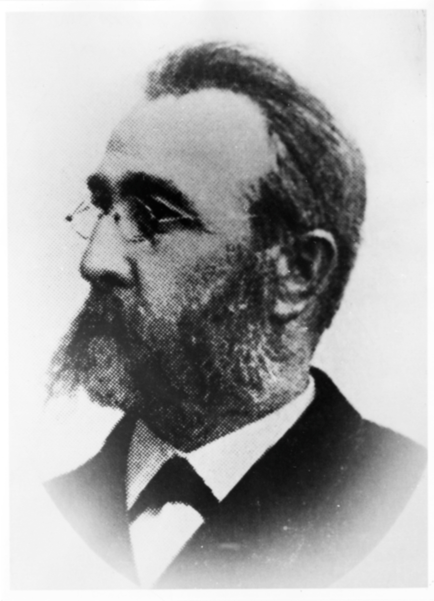 Lars Fredrik Robert Emanuel Silfversvan. Stationsinspektor i Arvika.