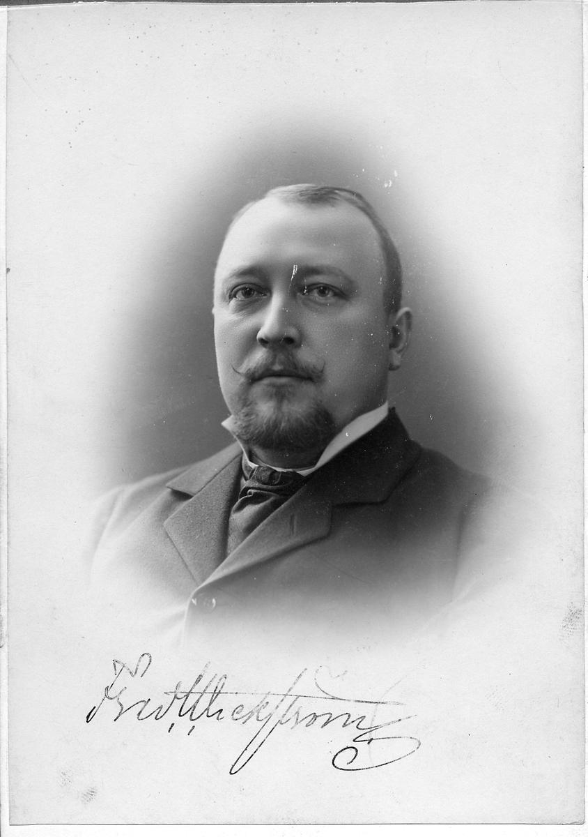 Trafikchef Fred Wickström, Landskrona.