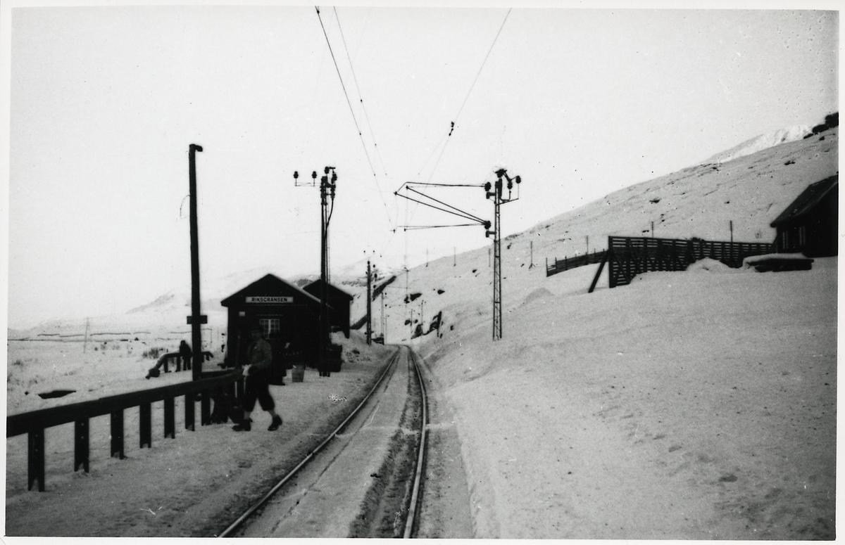 Riksgränsen station.