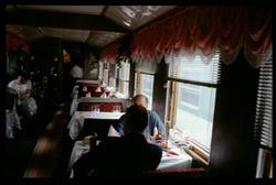 Rysk restaurangvagn.