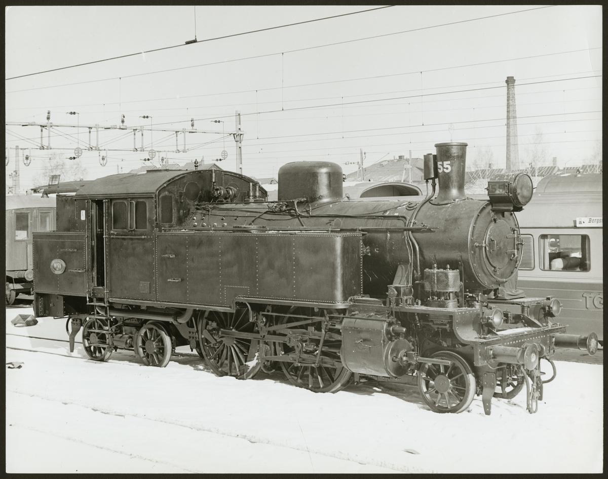 Trafikaktiebolaget Grängesberg - Oxelösunds Järnvägar, TGOJ S3 55.