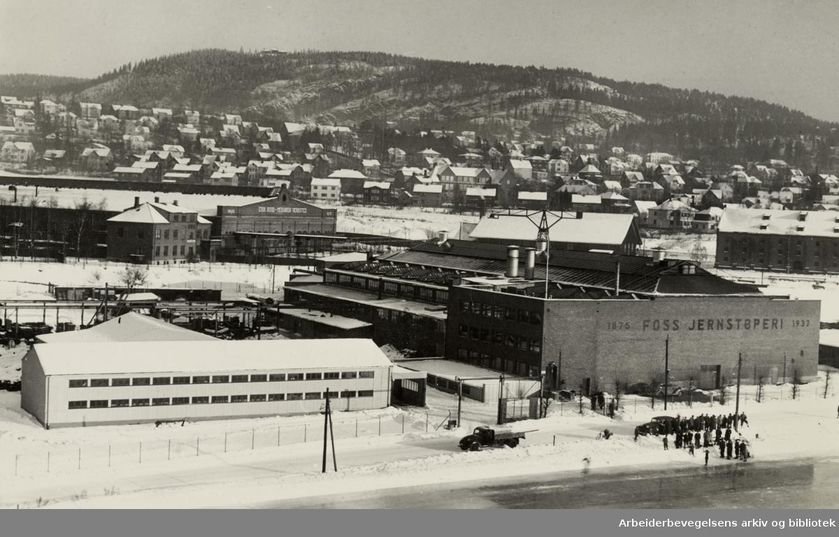 Foss Jernstøperi. 1950