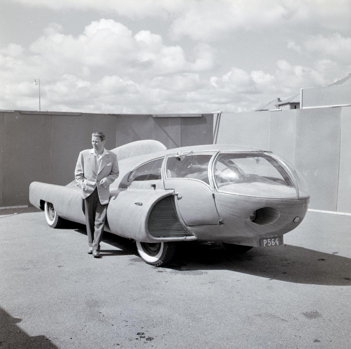 """""""Future"""" - drömbil från 1952 konstruerad i Frufällan, norr om Borås"""