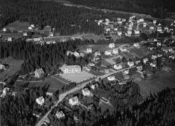 Flygfoto över Forserum i Nässjö kommun. Nr M 1011.