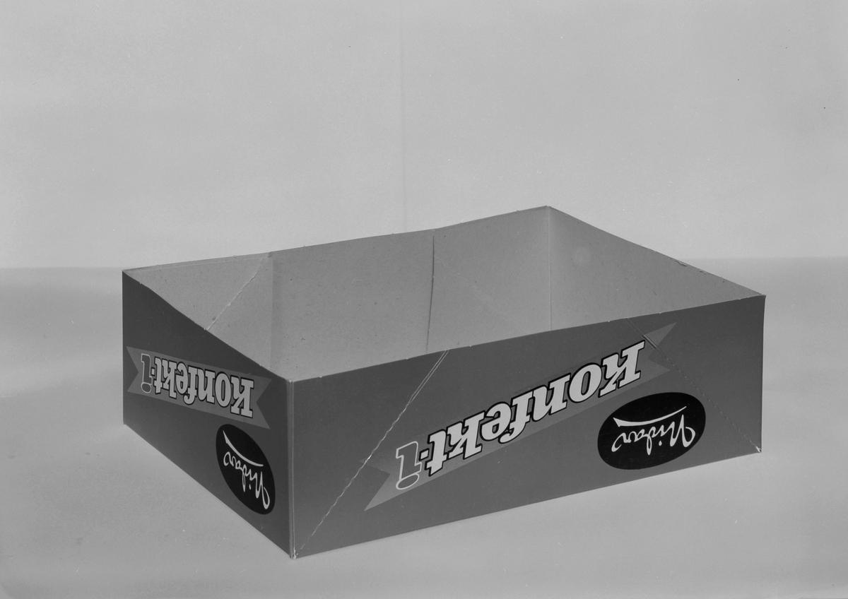 Forskjellig emballasje fra Nidar Chokoladefabrik A/S