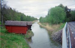 """Tuskö täppa """"sedd från bron"""", Söderön, Börstils socken, Uppl"""
