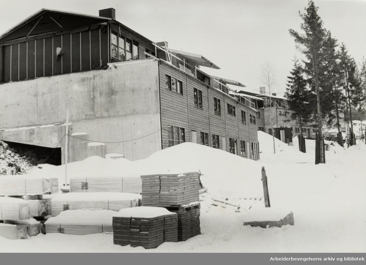 Furuset, (Nordre). Mars 1981
