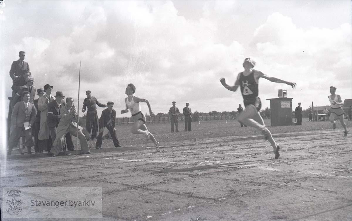 Friidrettsstevne på Stavanger Stadion i 1939