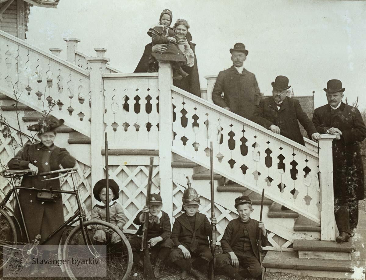 På trappen i Munkehagen