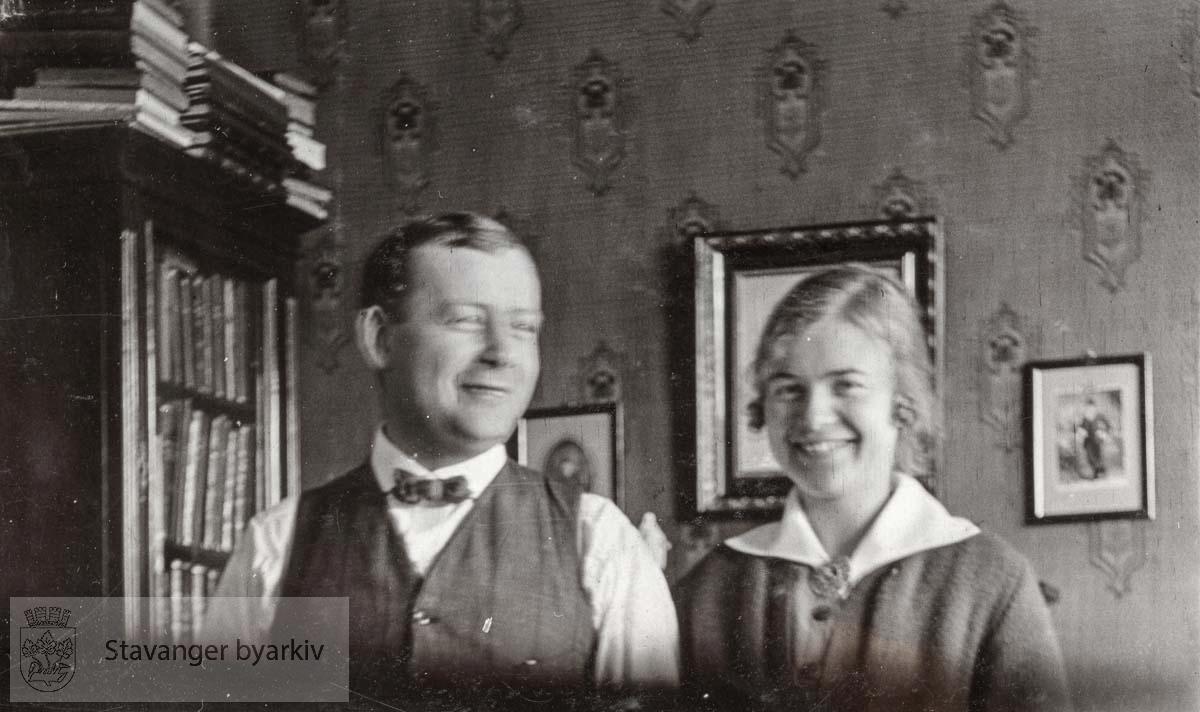 Rangval Riis og Mary Sandstøl
