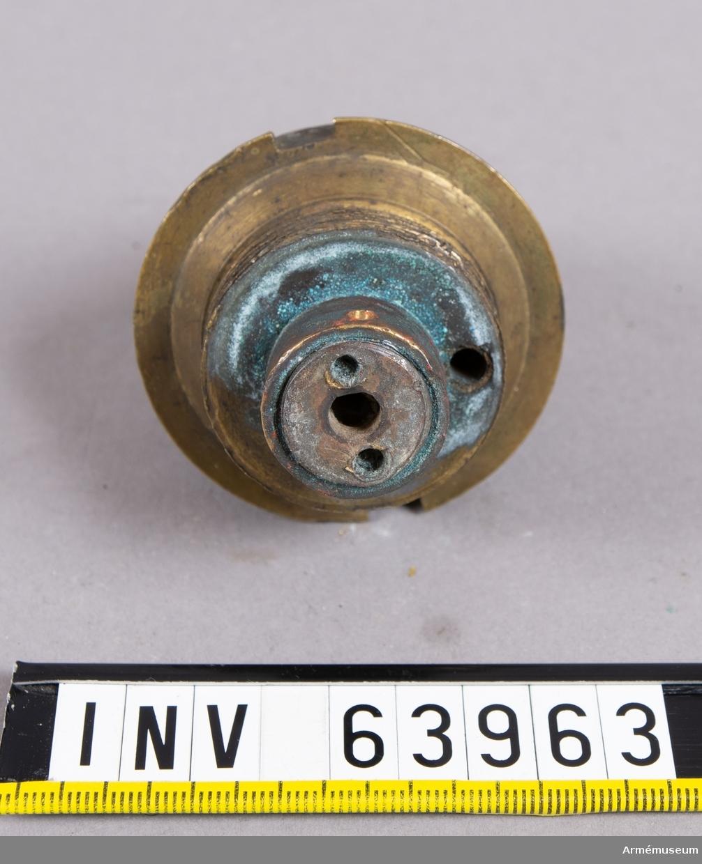 Grupp F II.   Enligt ritning 6.XI.1879. 1875-79 års skjutförsök. Enhetsrör 1875-1879 års skjutförsök.