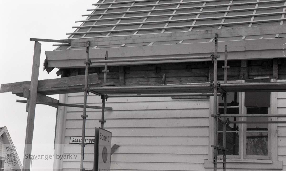 """""""Blidensol"""" .Renovering av fasade"""