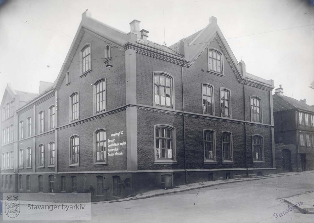 Waisenhusgata 50 ..Stavanger yrkesskoler ..Stavanger Tekniske Fagskole