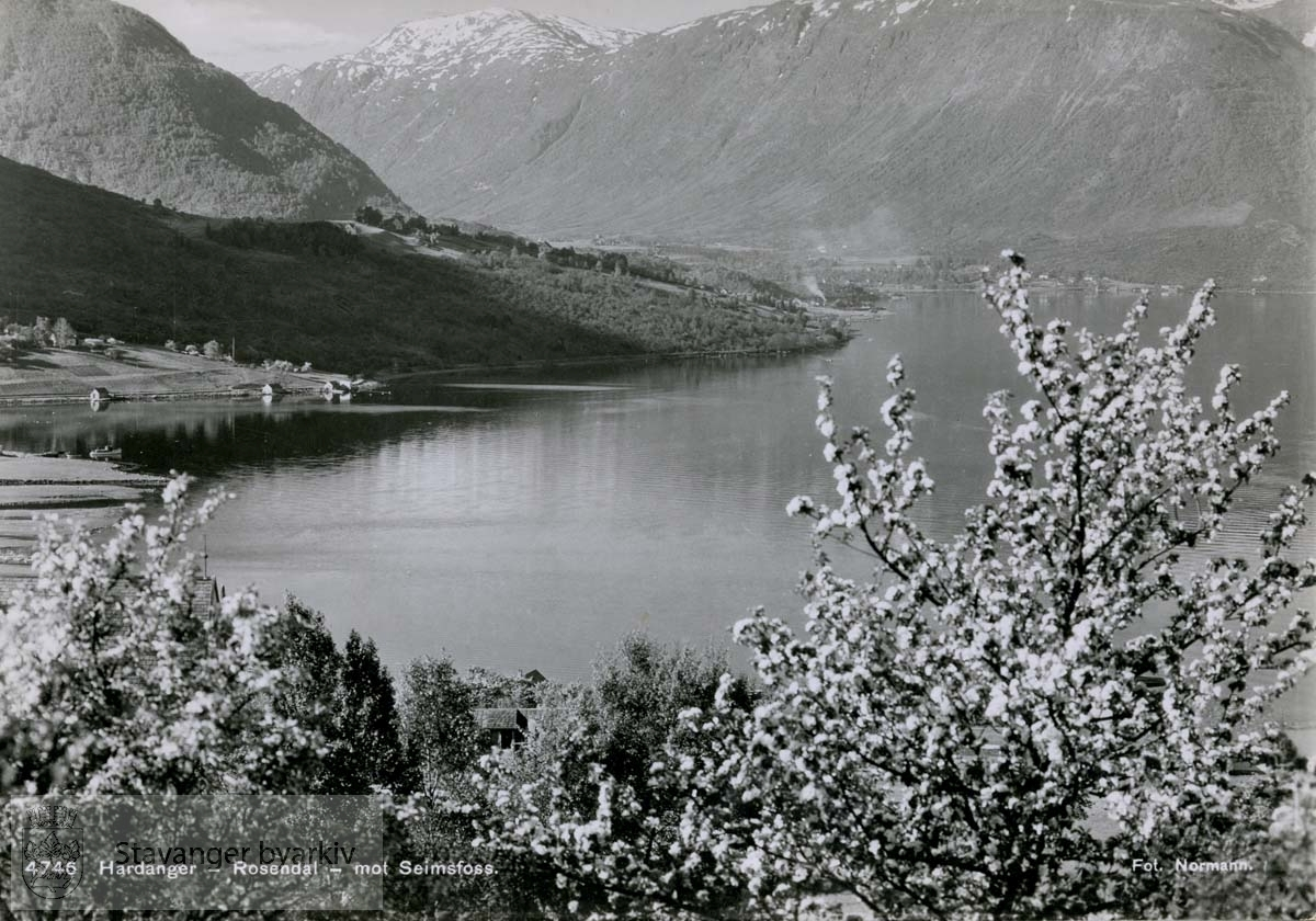 Rosendal - mot Seimsfoss, Hardanger