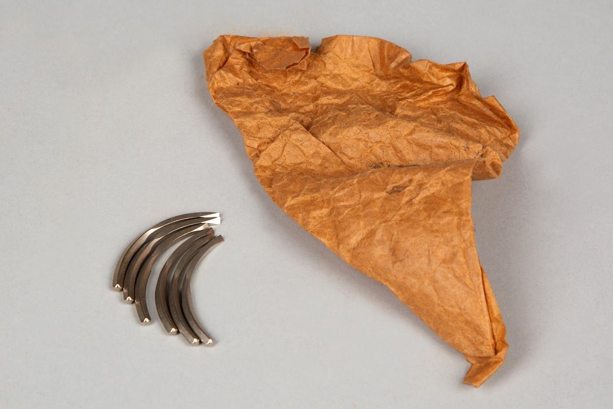 Spissposen inneholder: 6 syle, mulig for bruk i symaskin