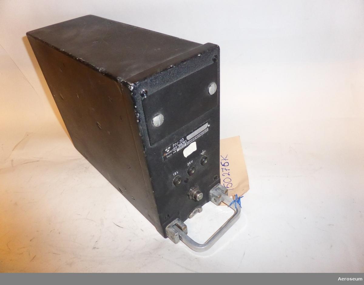 Spänningsstabilisator 648.76 till radarstation PN-50/A. För flygplan A 32A (Lansen).