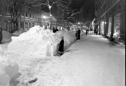 Vinterbilde fra Nordre gate