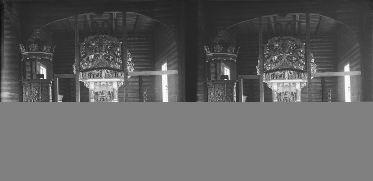 Sel kirke, interiør, altertavla