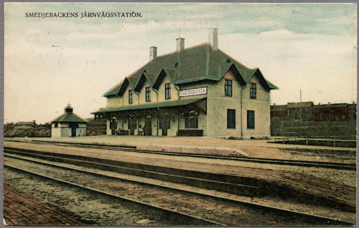 Smedjebacken station.