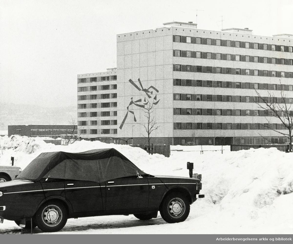 Haugenstua. Februar 1978