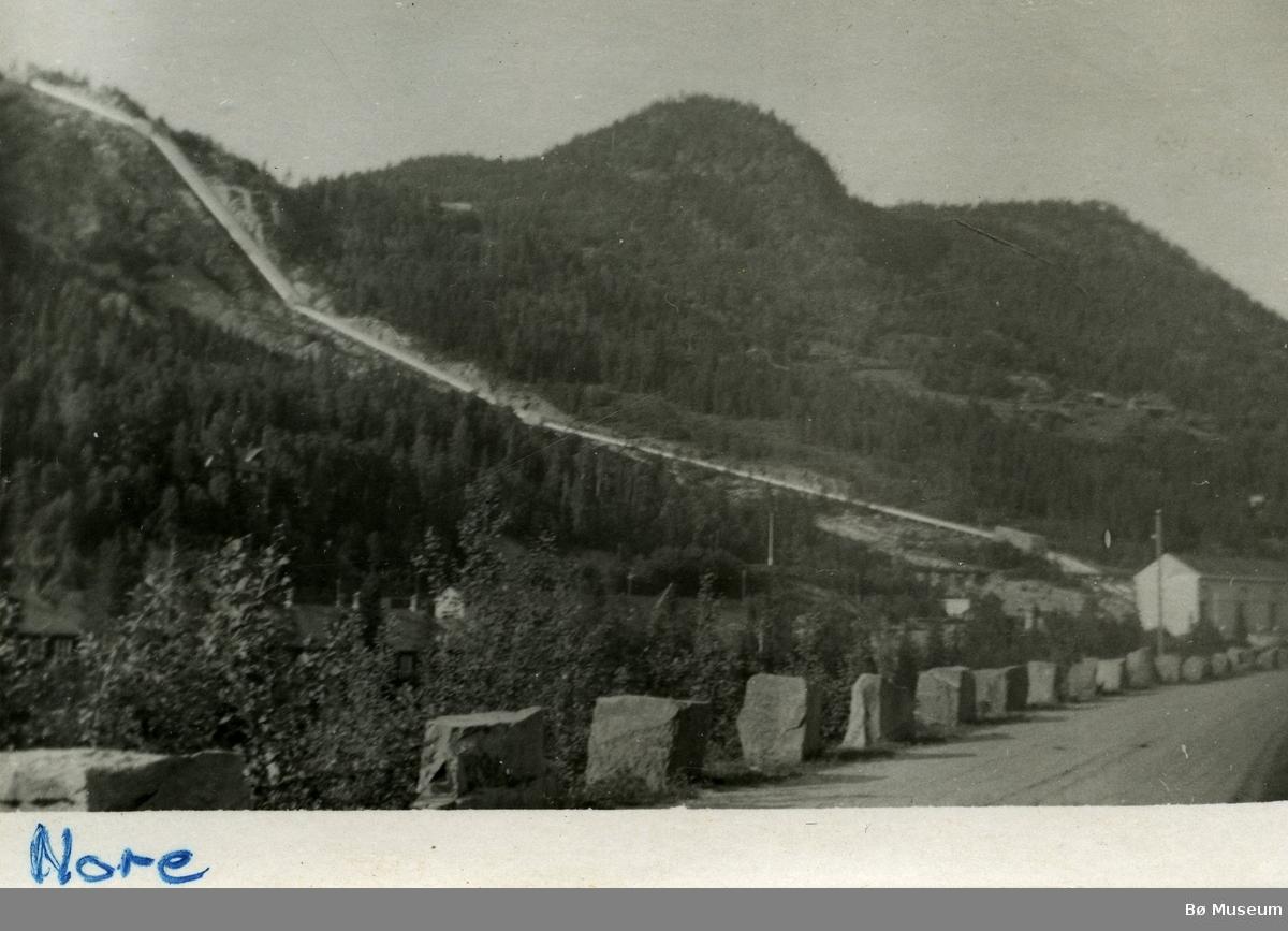Nore kraftstasjon ved Rødberg