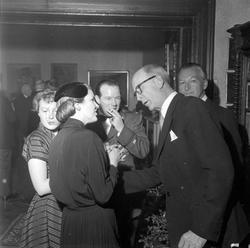 Bryllup mellom Bryhild (Bobbo) Lysholm og Henry Stanhope Bro
