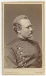 Porträtt av okänd underlöjtnant vid Bohusläns regemente I 17