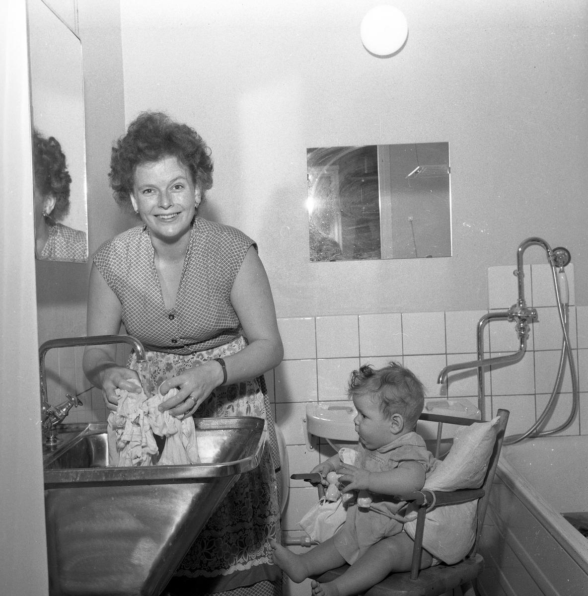 Julförberedelser. 18 december 1958.