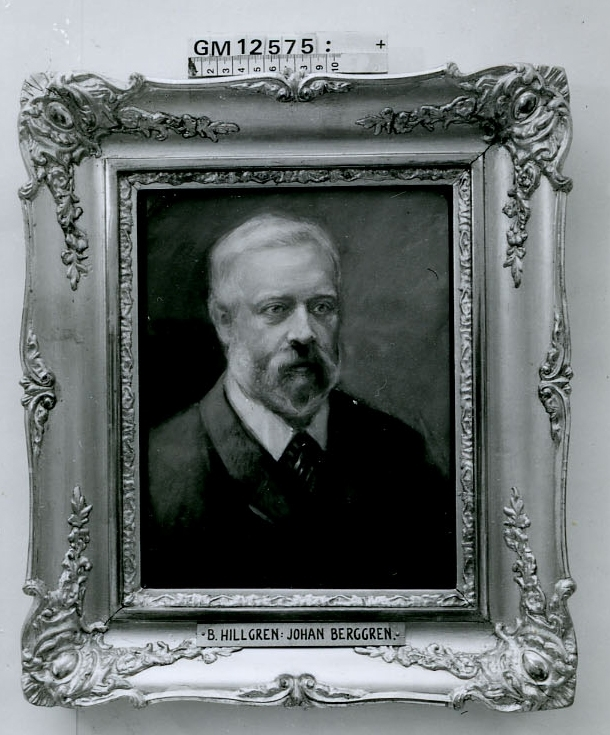 Givarinnans svärfar grosshandlare Johan Berggren.