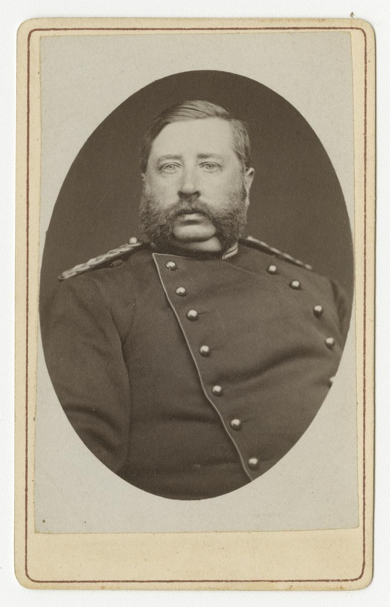 Porträtt av Jacob Otto Liljenstolpe, löjtnant vid Smålands grenadjärbataljon.