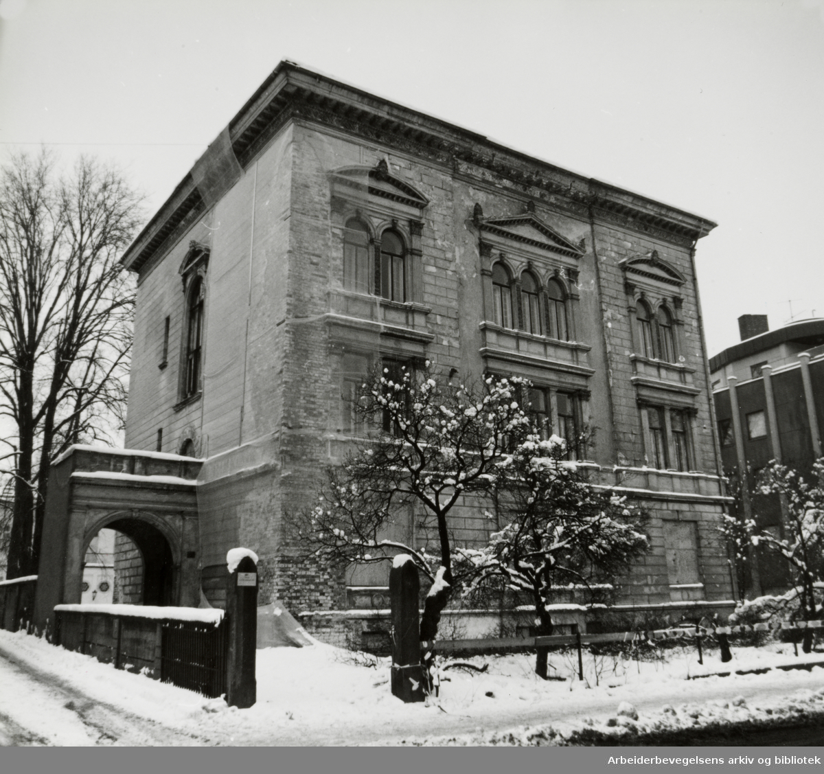Josefines gate 20. Bypalasset. 3. november 1993