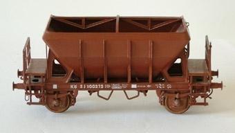 Modell av spannmålsvagn i skala 1:50 Nr 100273 KÖ SJ 100273  Modell/Fabrikat/typ: Kö, Udq