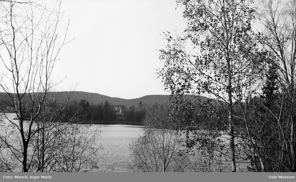 vann, løvtrær, Bogstad gård, skog, åser