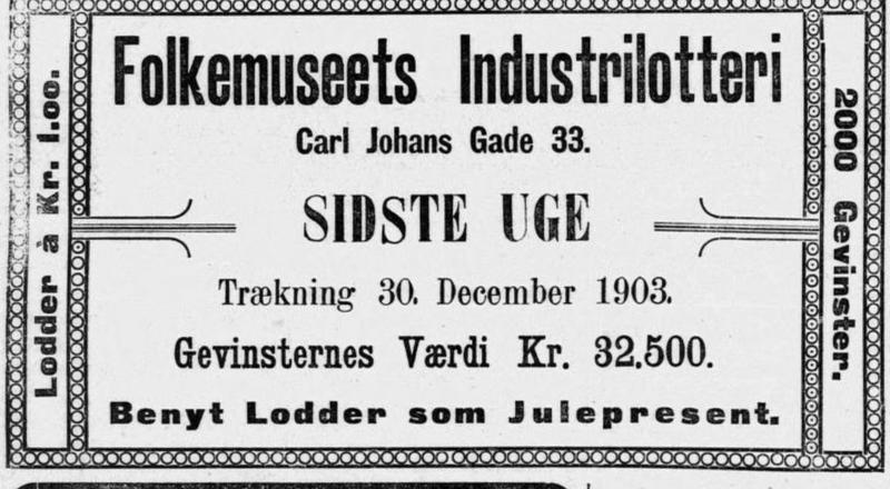 Lotteri 1903 (Foto/Photo)