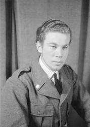 Porträttfoto av sergeant Sten Viktor Torgny Anderberg (numme
