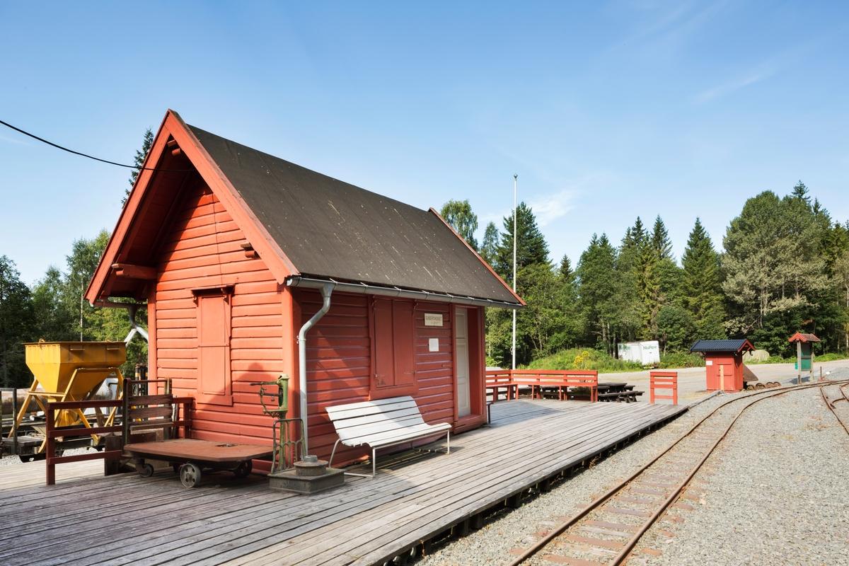 Stasjonsbygning Gundershogget, fra 1920. Opprinnelig Eid holdeplass mellom Tynset og Tolga på Rørosbanen