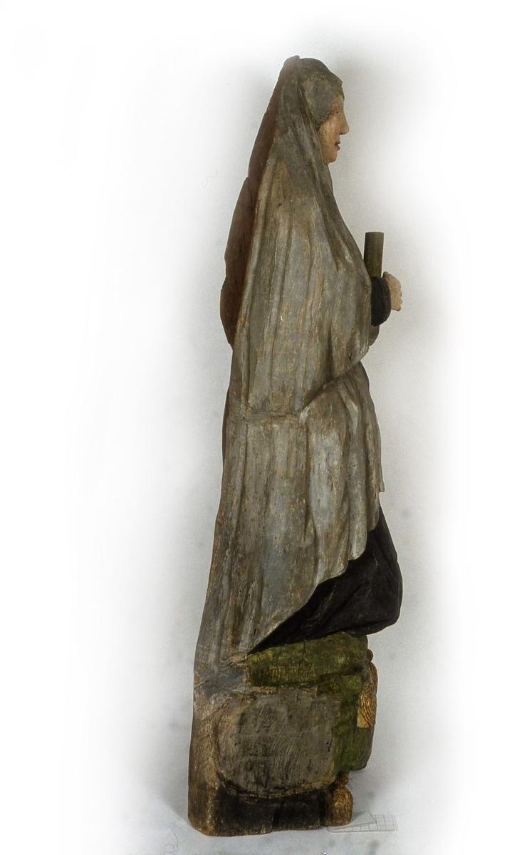 Statyn över Margareta Brahe i Brahekyrkan på Visingsö, Jönköpings kommun.