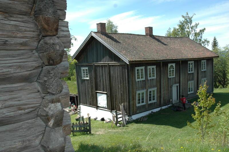 Grinakerbygningen fra Halvdanshaugen. Foto: Tor Lindseth