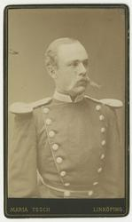 Porträtt av Karl Fredrik von Malmborg, officer vid Andra liv