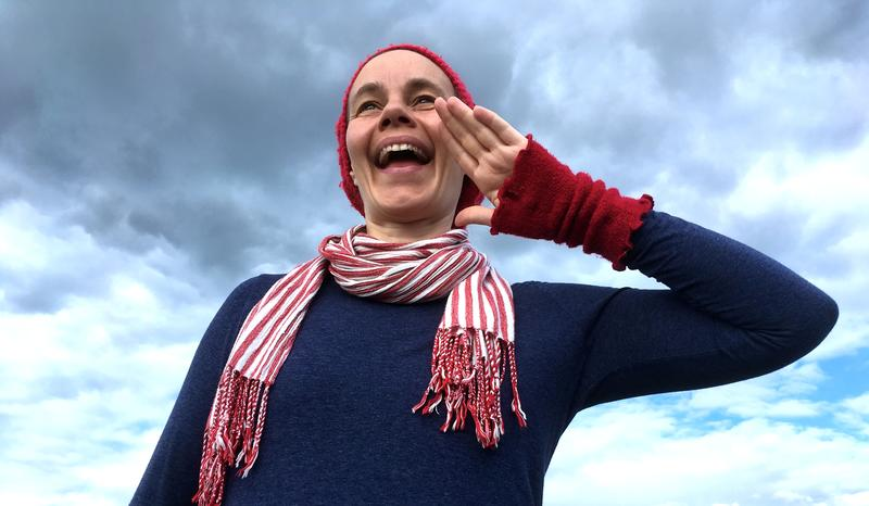 Karin bruker laling som mindfullness og laler nesten hver dag.