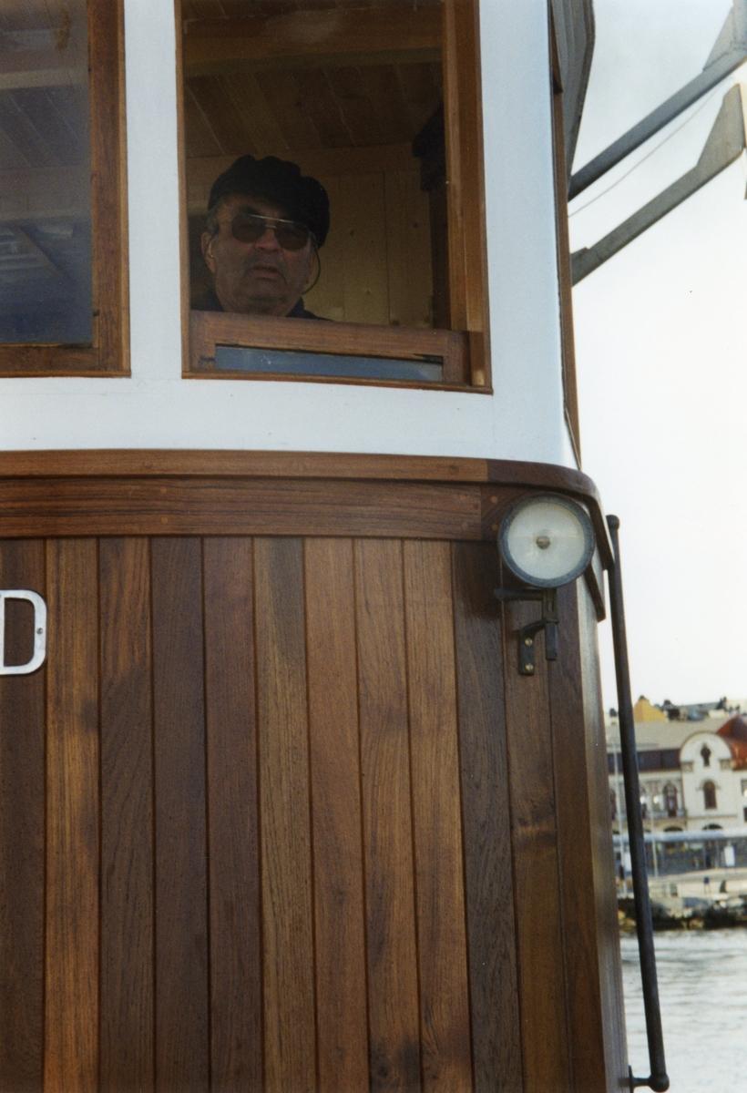 """Motiv fra båttur med M/B """"Heland"""" etter den var ferdig restaurert ved Hardanger Fartøyvernsenter."""