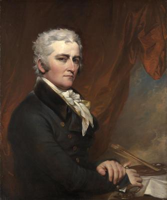 Selvportrett av John Trumbull. Malt ca. 1802. Yale University Art Gallery.