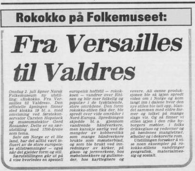 Arbeiderbladet 1980 (Foto/Photo)