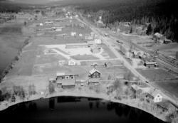 Flygfoto över Sälen.